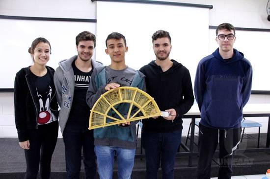 UNIFAAT realiza I Concurso de Ponte de Macarrão do curso de Arquitetura e Urbanismo