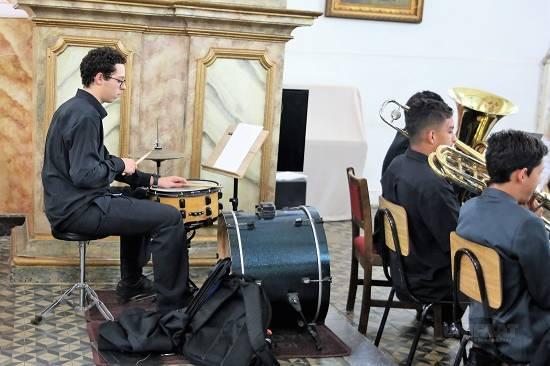 Banda Sinfônica Primeiro Movimento se apresenta com grande sucesso no Festival de Inverno