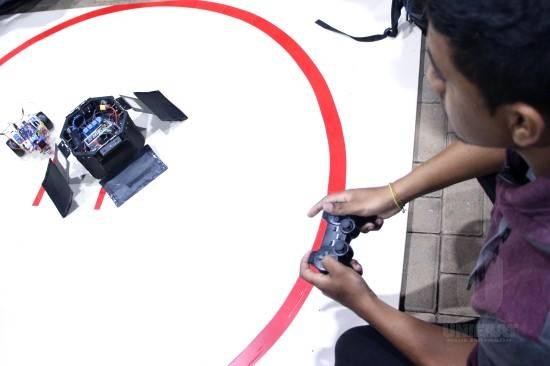 III Sumô de Robôs contou com disputas acirradas entre as equipes