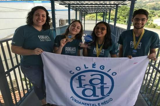 Colégio FAAT brilha novamente na Feira Brasileira de Ciências e Engenharia – USP