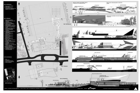 Projeto da nova sede do Grêmio Esportivo Atibaiense tem assinatura de alunos do curso de Arquitetura e Urbanismo