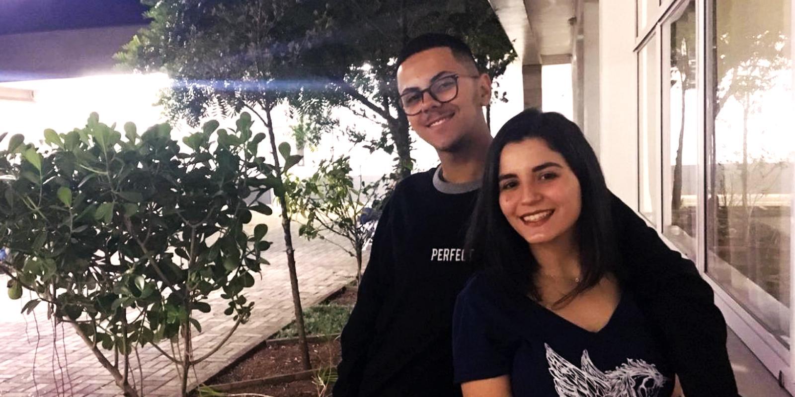 Emanuel e Giovanna se apresentam na Quarta Cultural