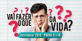 Vestibular 2019 está com inscrições abertas e oferece novo curso