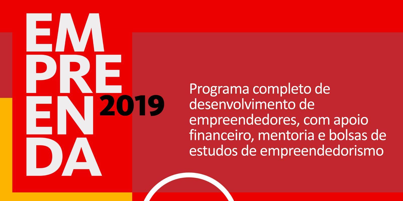 Programa Empreenda Santander 2019 - Estudantes de Graduação e Pós-graduação da UNIFAAT podem se inscrever