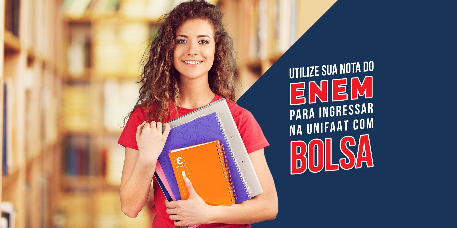 Use sua nota no ENEM para ingressar na UNIFAAT com bolsa