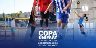 Vem aí a Copa UNIFAAT 2019