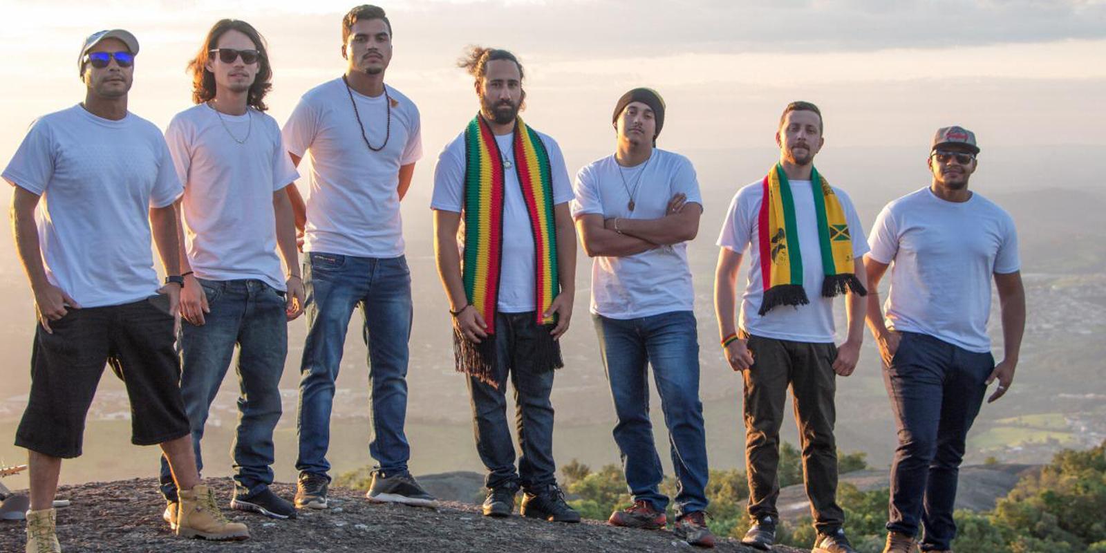 """Banda de reggae """"Anjos de Jah"""" e convidados se apresentam na UNIFAAT"""