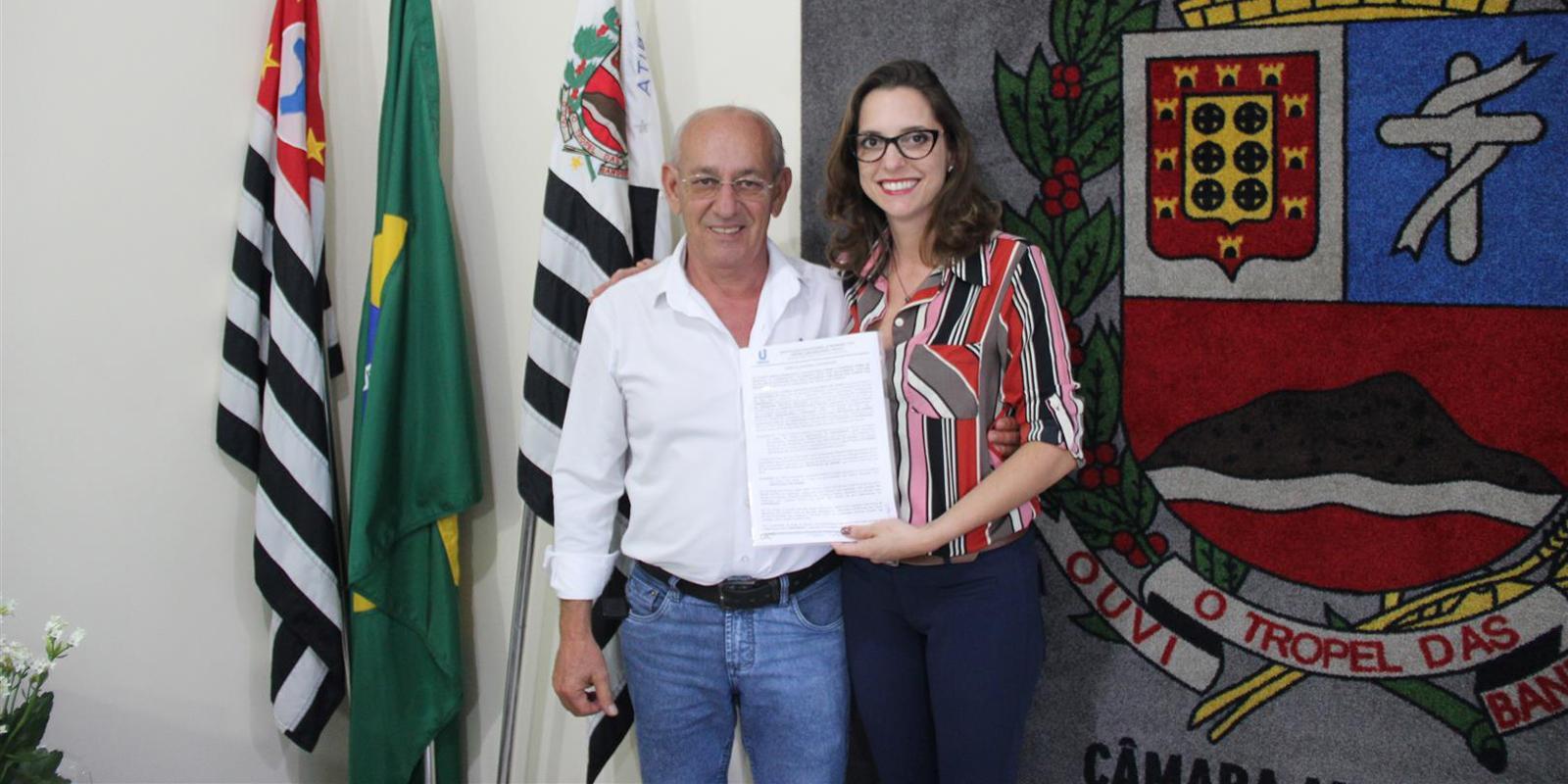 UNIFAAT firma parceria com a Câmara Municipal de Atibaia