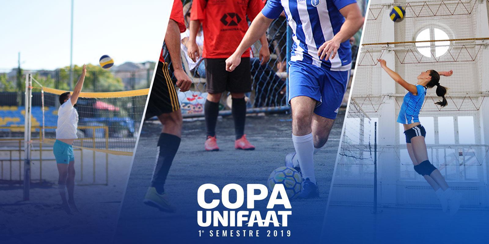 Copa UNIFAAT 2019 está com inscrições abertas para novas modalidades esportivas