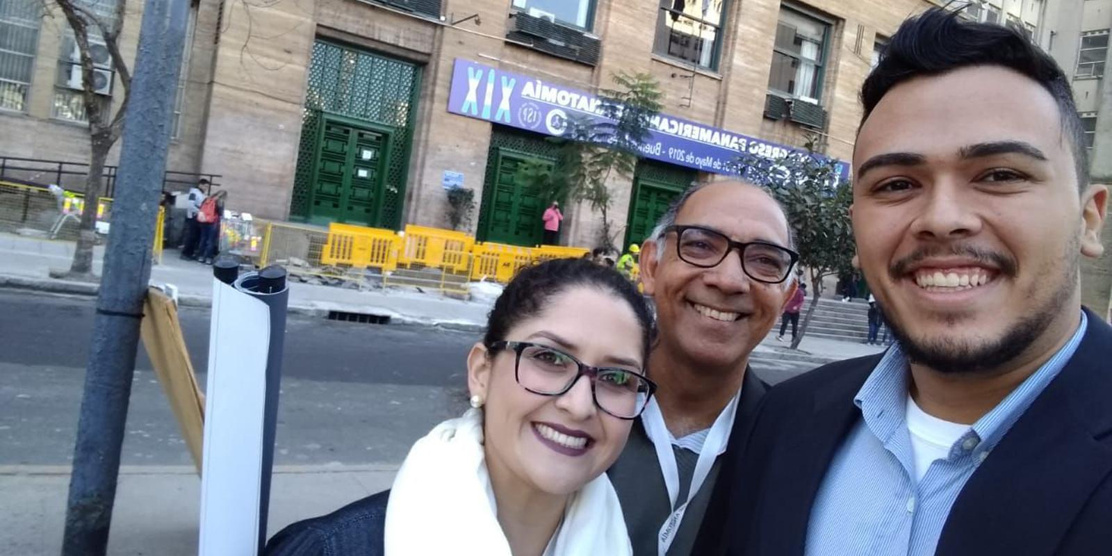 Professores e alunos do curso de Fisioterapia participam de congresso internacional