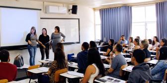 UNIFAAT sedia treinamento para colaboradores da empresa Exata Contabilidade