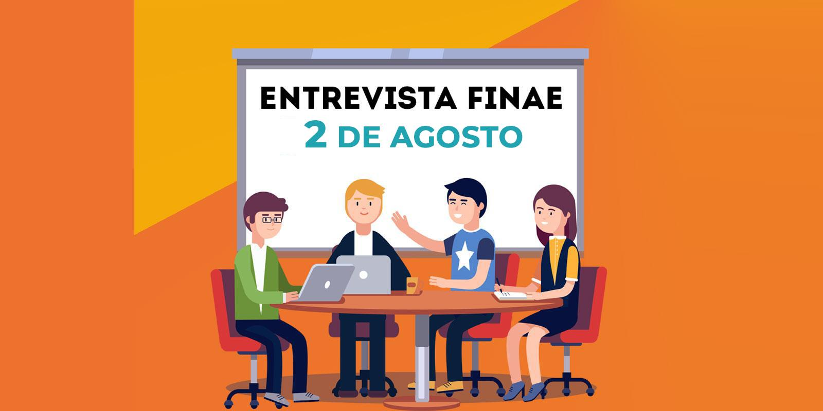 Entrevistas do FINAE 2019/2º Semestre