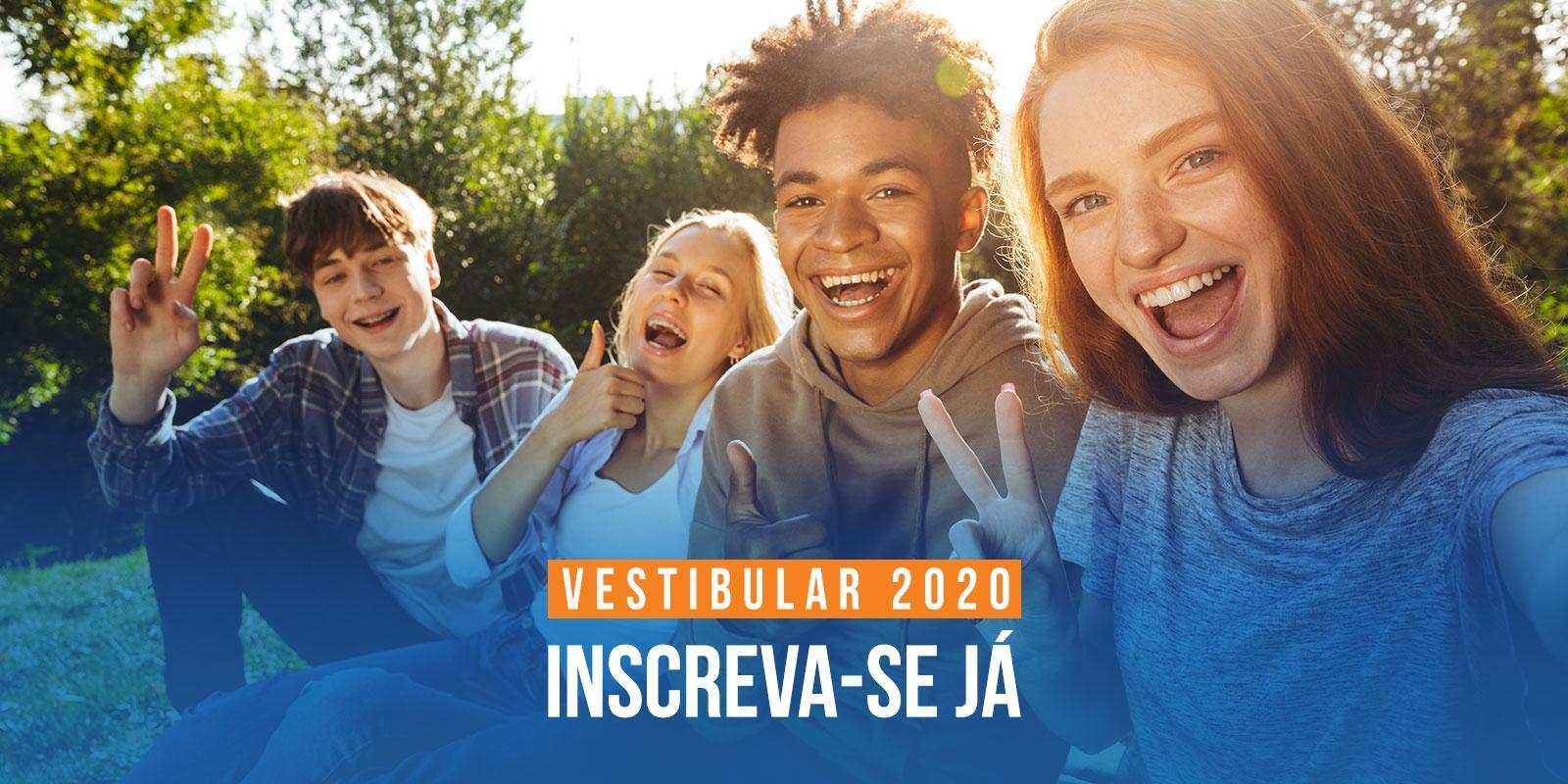 Vestibular 2020 está com inscrições abertas para Graduação Smart e cursos tradicionais