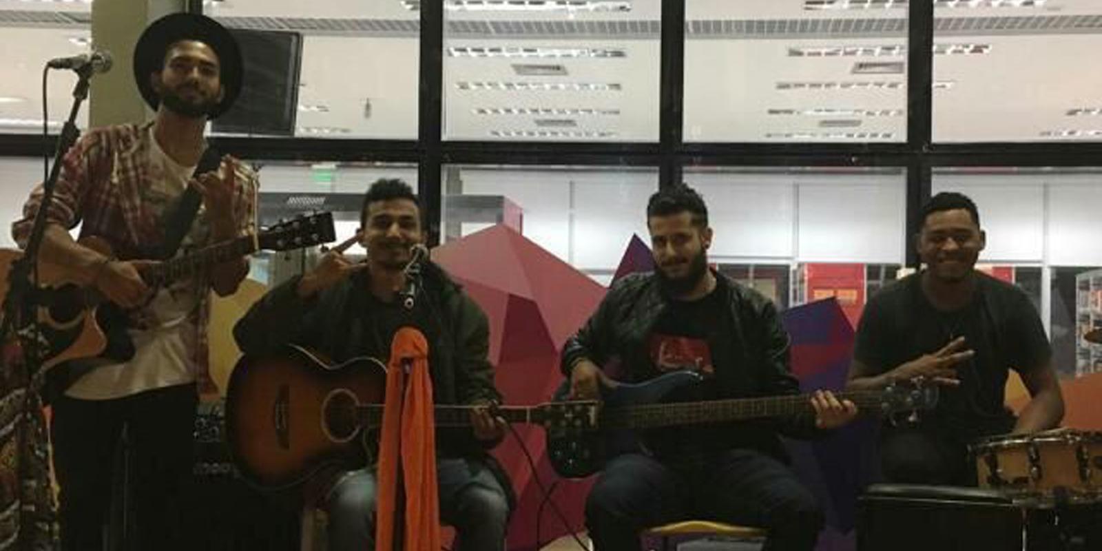 Banda Isolados se apresenta com convidado na Quarta Cultural de hoje