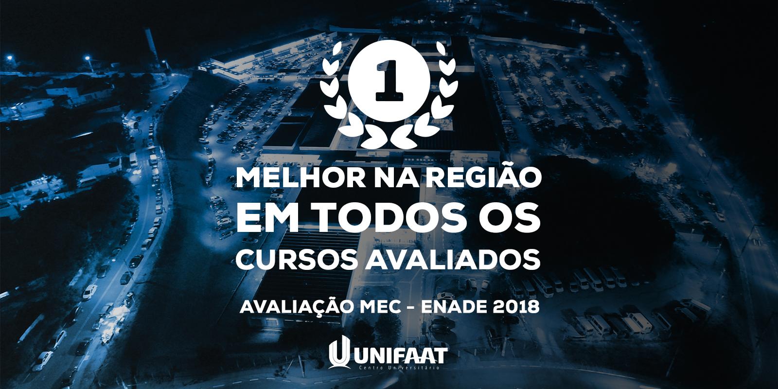 MEC atesta novamente cursos da UNIFAAT como os melhores da região