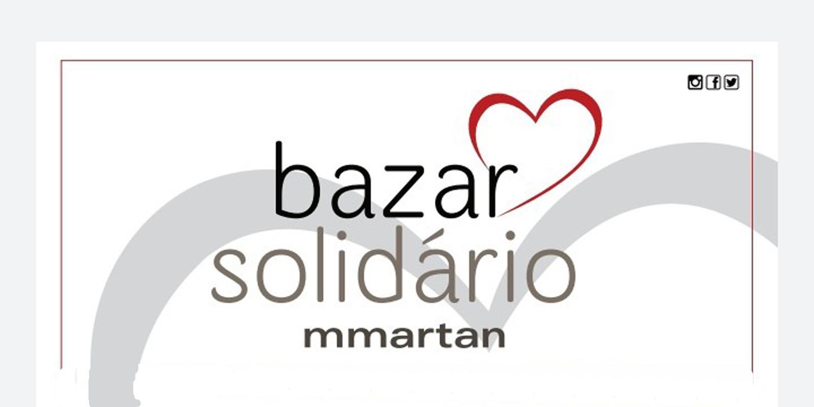 MMartan realiza bazar solidário em prol da Casa de David