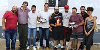 Vencedores do Sumô de Robôs recebem certificados