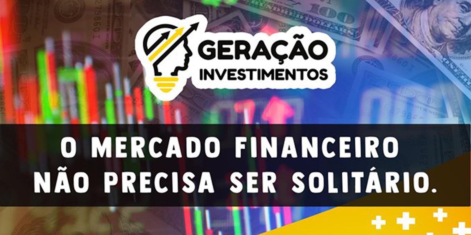 Escola Geração Investimentos realiza palestra sobre mercado financeiro