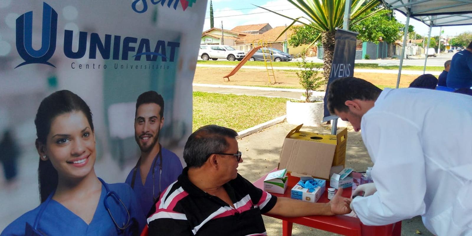 UNIFAAT participa da programação Novembro Azul da Prefeitura de Atibaia