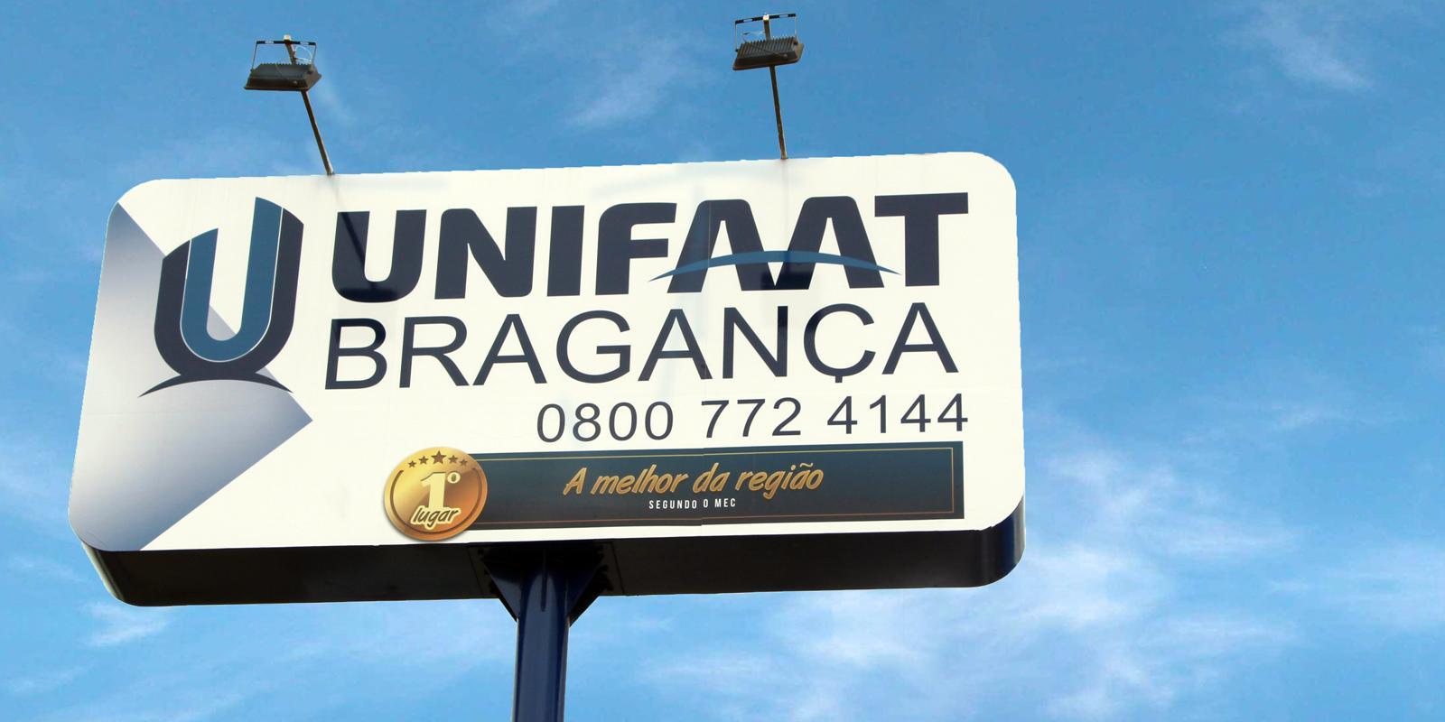 Orientações para os candidatos que prestarão a Prova de Bolsas da UNIFAAT Bragança Paulista