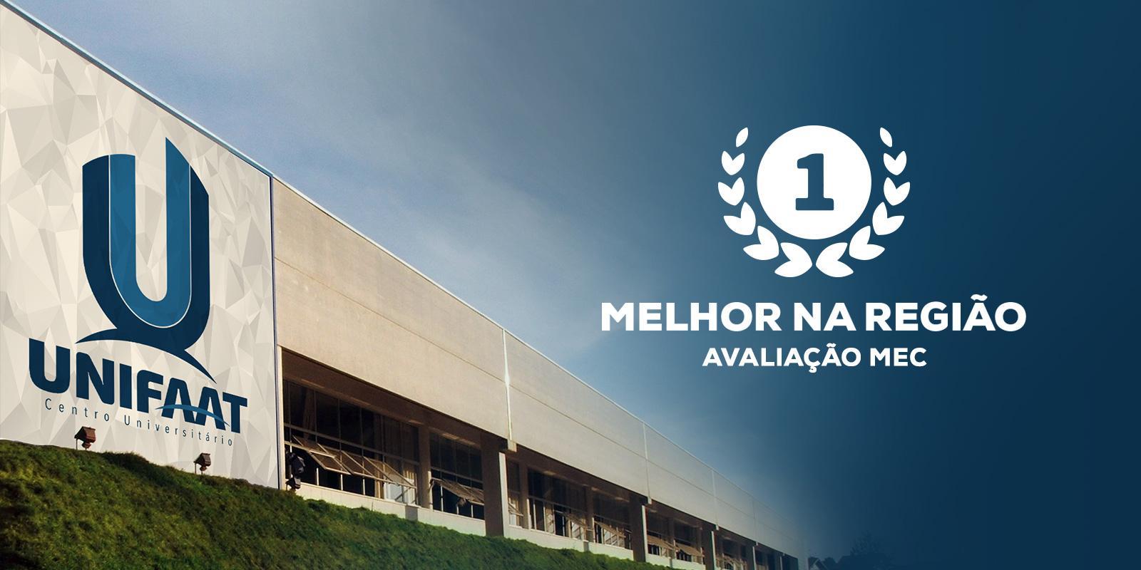 Por 12 anos consecutivos a UNIFAAT figura entre as melhores instituições de ensino superior do País