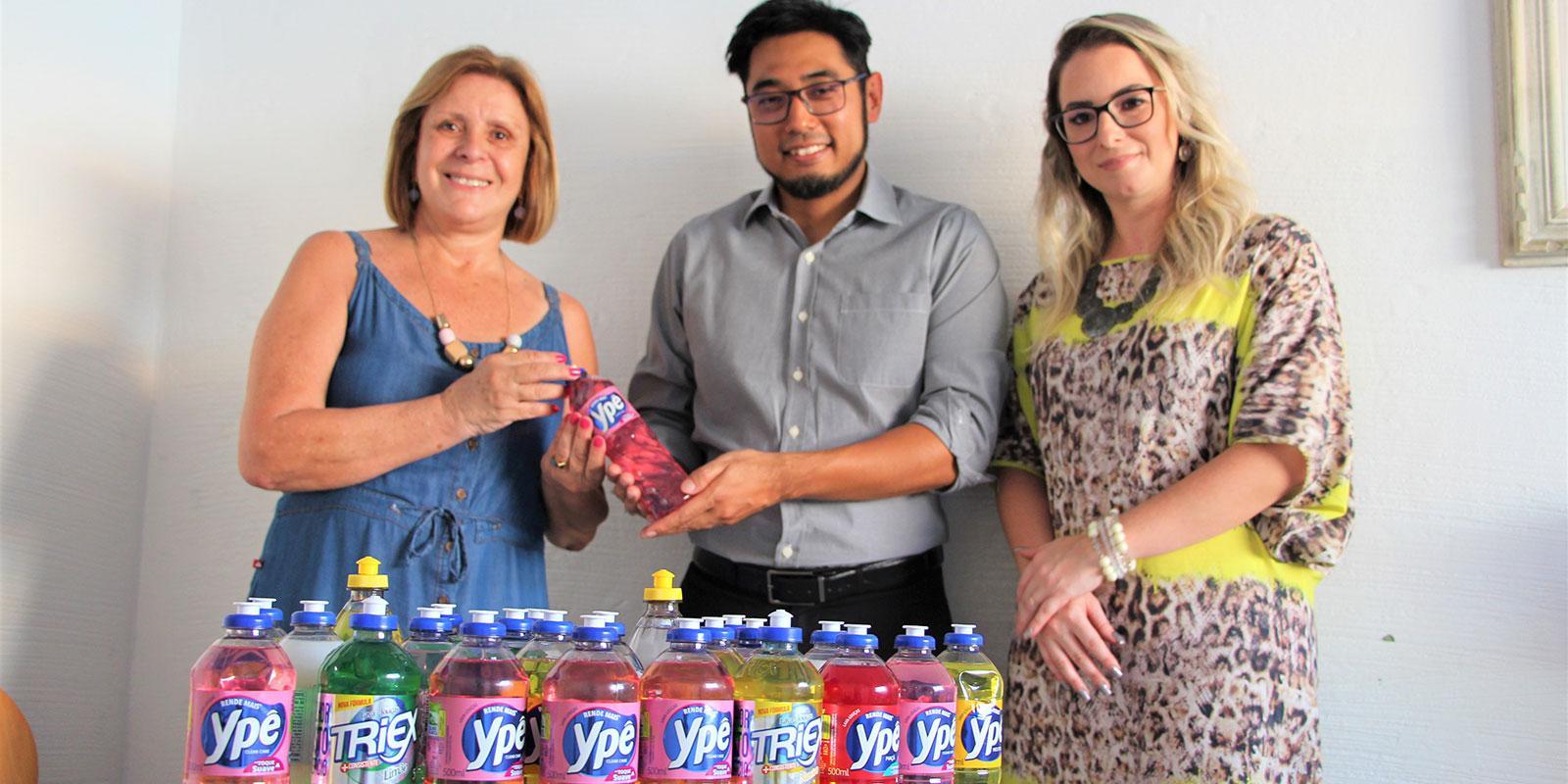 UNIFAAT realiza entrega de donativos ao SAMA de Bragança Paulista