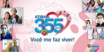 Atibaia 355 Anos: Um jeito diferente de celebrar nossa cidade