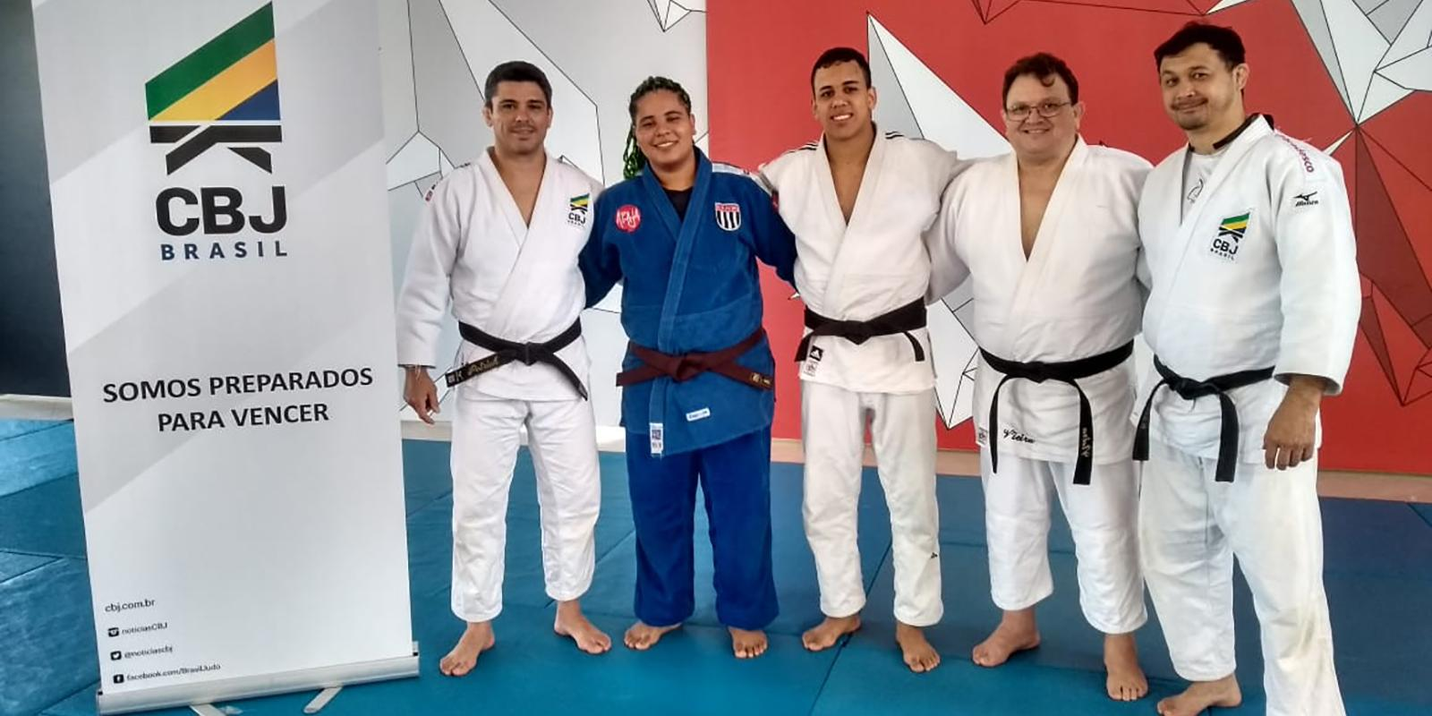 Judocas Atibaienses em mais uma Convocação para Treinamento de Campo da Confederação Brasileira de Judô