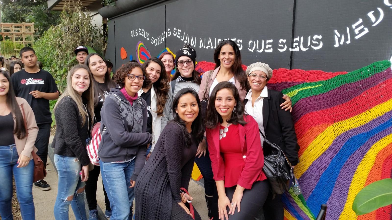 Acadêmicos de Design de Interiores visitam a CASACOR São Paulo 2018
