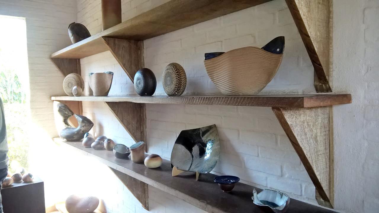 Alunos de Artes Visuais visitam Cunha - a cidade da cerâmica
