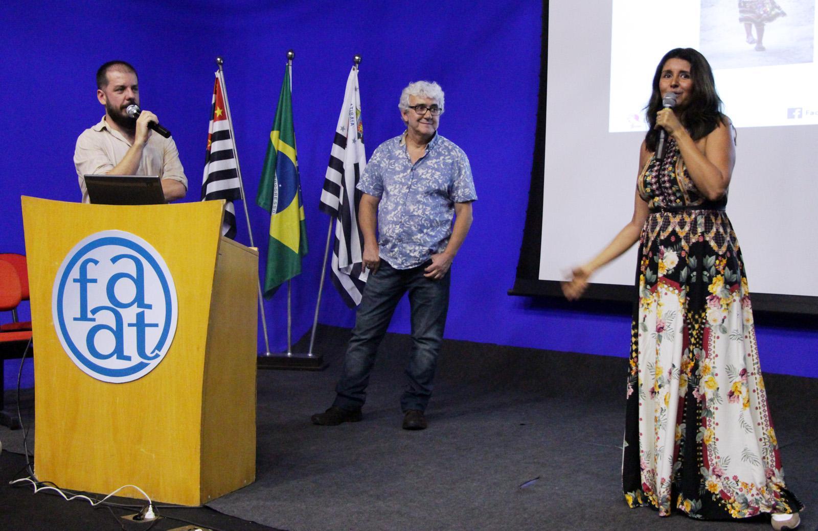 """IV Semana de Design de Interiores da FAAT recebeu apresentadores do Programa """"Admirável Móvel Novo"""""""