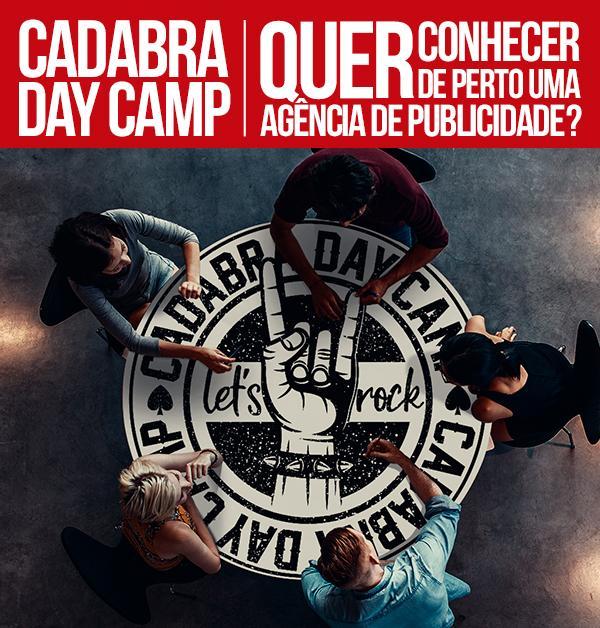 Estudantes do curso de Publicidade podem se inscrever para o Cadabra Day Camp