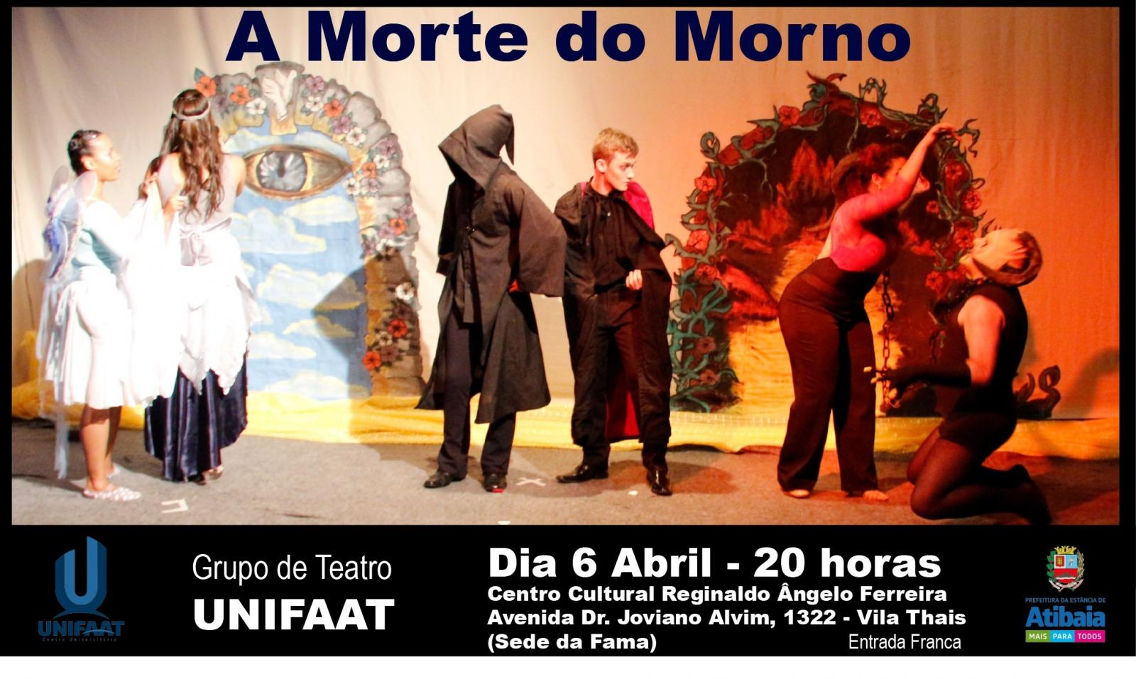 Teatro UNIFAAT se apresenta na Dobrada Cultural de Atibaia