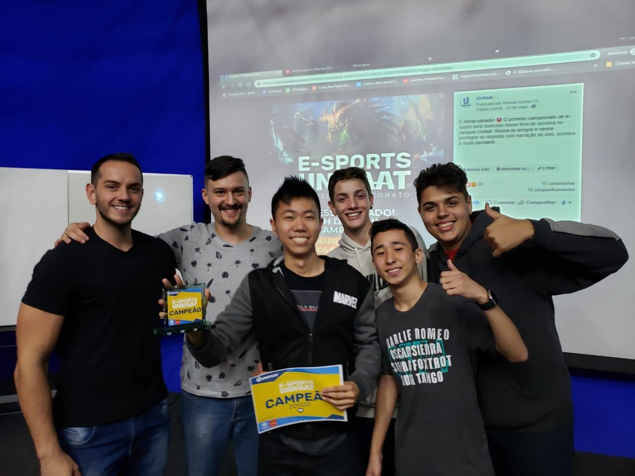 UNIFAAT realiza o primeiro E-SPORTS da região