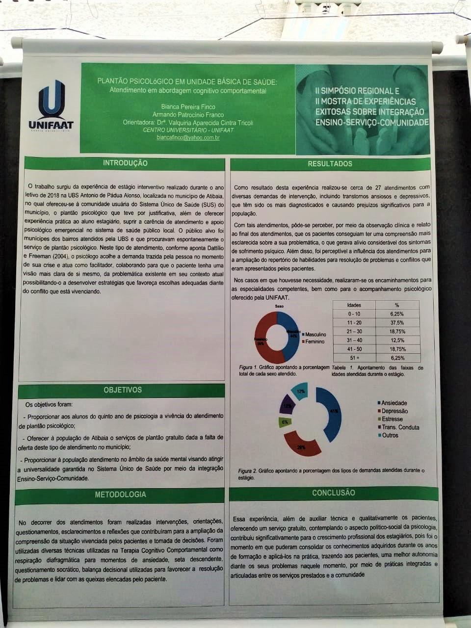 Acadêmicos de Psicologia participam do COAPES Regional