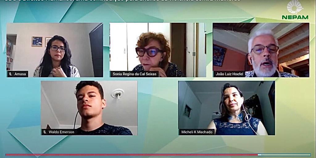 3º Webinar Nepam - Unicamp contou com participação de pesquisadores da UNIFAAT