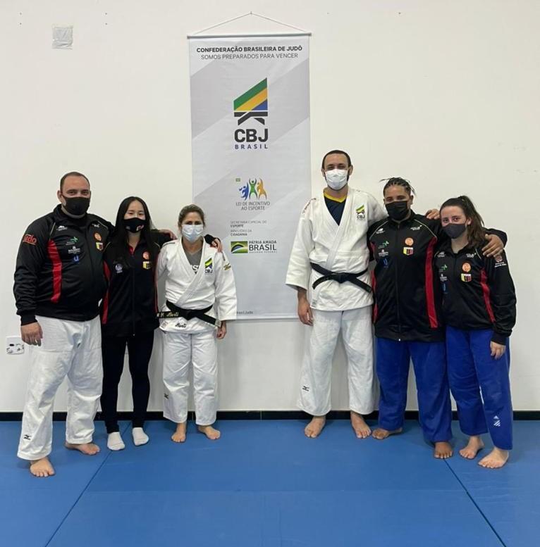 Judocas Atibaienses Presentes em Mais uma Ação da CBJ e a Convocação do Preparador Físico Roger Fonseca para Tokyo 2020